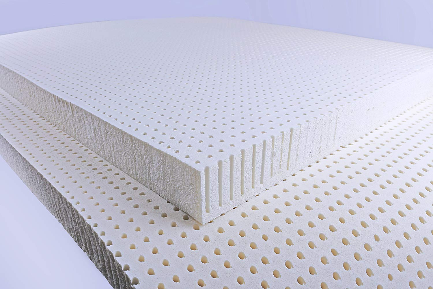 "3"" 100% Natural Talalay Latex Super Soft Mattress Topper (Queen)"